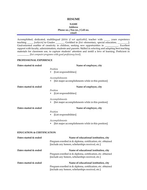 sle resume with no experience 28 images 8 no