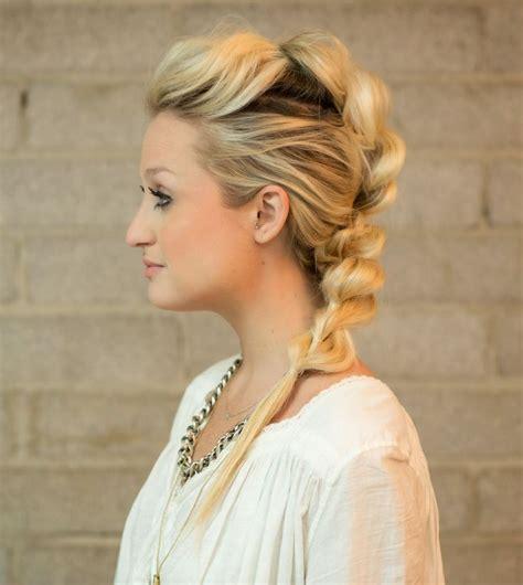 curls in hair styles 25 best faux mohawk ideas on faux hawk 6997