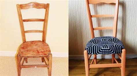 relooker chaise en bois 20 idées pour relooker une chaise hellocoton