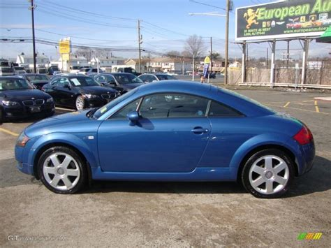 denim blue  audi tt  quattro coupe exterior photo