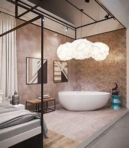 Freistehende Badewanne Im Schlafzimmer : luxus badewannen mit freistehenden und modernen designs ~ Bigdaddyawards.com Haus und Dekorationen