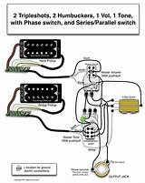 Seymour Duncan Wiring Diagram For 1 Pickup