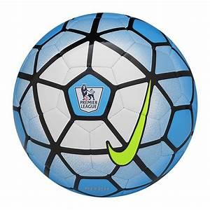 Nike Pitch EPL Soccer Ball (Blue Lagoon/White/Black)