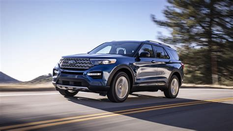 2020 Ford Explorer Goes Rear-wheel Drive, Gains Serious
