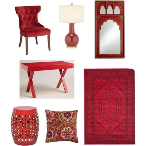 Blue 11 Interiors: Golden Globes Color Trend: Bold Red