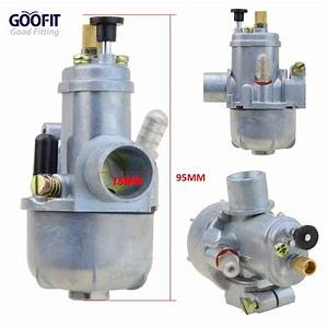 Goofit 15mm Carburetor Puch Moped Bing Style Carb Stock