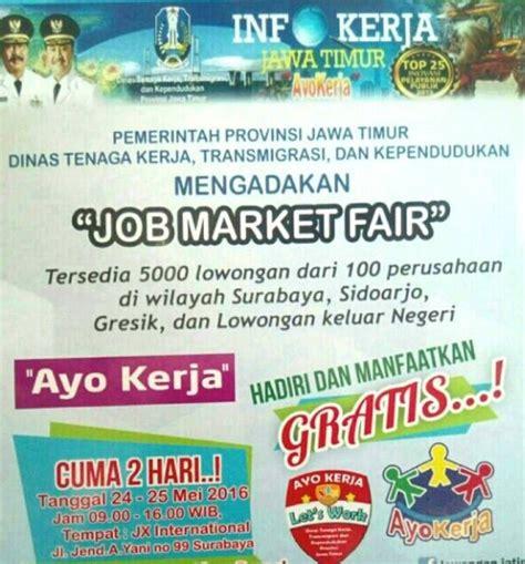 Kami akan memberi solusi anda mengenai informasi lowongan kerja. Lowongan Kerja Di Job Market Fair Surabaya | Info Lowongan Kerja Terbaru