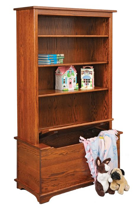 Toybox Bookshelf by Jake S Amish Furniture 30 26 Bookcase With Box