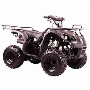 Free Shipping  110cc Utility Hummer Style Quad Atv