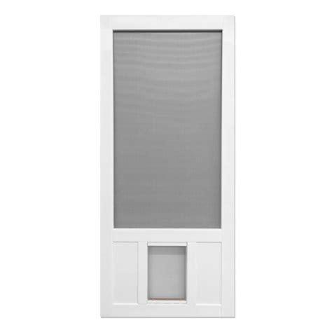 screen door home depot screen tight 36 in x 80 in chesapeake series reversible
