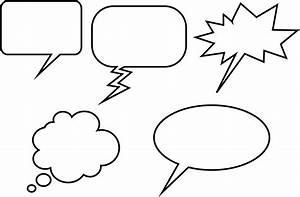 comic book speech bubbles printable clipart best With photo booth speech bubble template