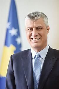 President of the Republic of Kosovo - Hashim Thaçi