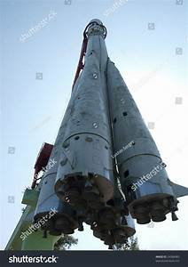 Monument First Russian Space Ship Vostok1 Stock Photo ...