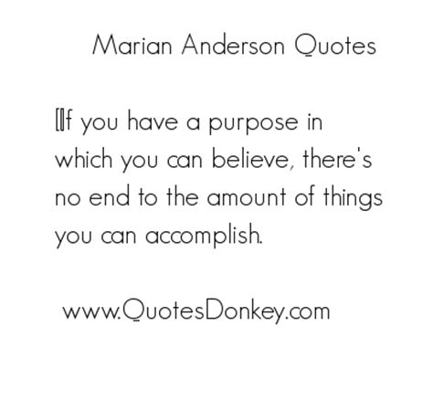 Marian Anderson Famous Quotes