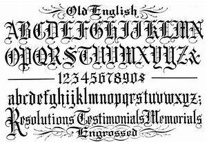 gothic graffiti alphabet old english writing styles With old english gothic letters