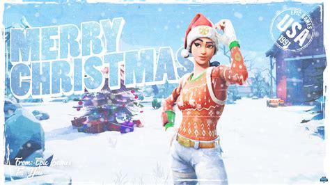 It's Always Christmas In Fortnite (1080p Wallpaper)