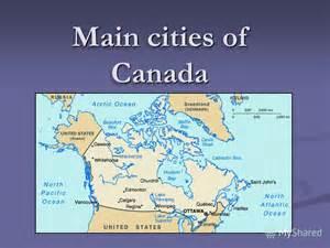 Canada Major Cities