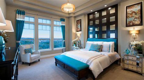 beautiful brown  teal bedrooms home design lover