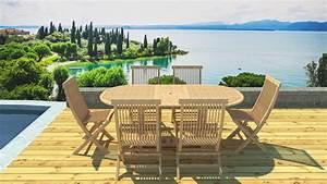 Salon Jardin Teck : salon de jardin teck 6 places ~ Melissatoandfro.com Idées de Décoration