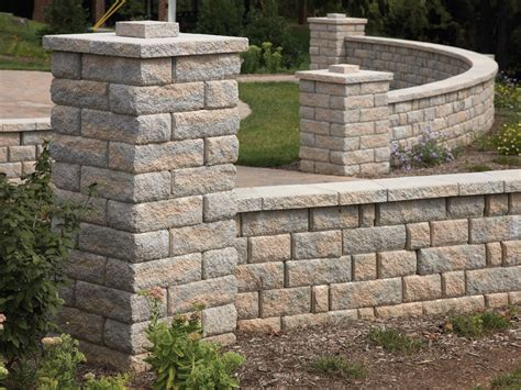 Stone blocks decorative mosaic shape shameless pattern in wall background for wall an floor. Image result for concrete block columns | Concrete blocks ...