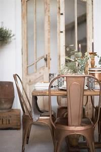 Chaise Tolix Maison Du Monde : l 39 am nagement d 39 une salle manger style industriel en 48 photos ~ Melissatoandfro.com Idées de Décoration