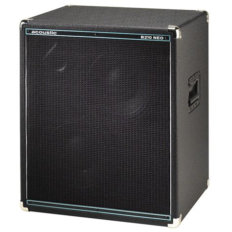 2x10 Bass Cabinet Neo by Acoustic B210 Neo 2x10 Bass Speaker Cabinet Vinyl Cover