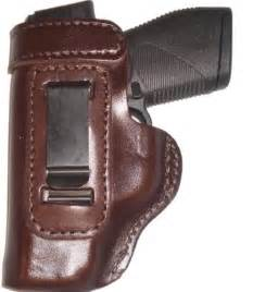Taurus PT111 Heavy Duty Brown Left Hand Inside The Waistband Concealed Carry Gun Holster