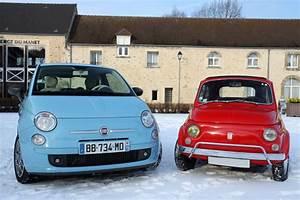 Pieces Fiat 500 Ancienne : fiat 500 luxe 1970 vs fiat 500 twinair 2008 un peu d 39 histoire ~ Gottalentnigeria.com Avis de Voitures