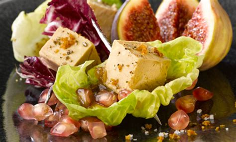 recette de salade de foie gras aux figues  grenade pm