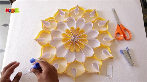 How To Make Wall Decoration With Paper