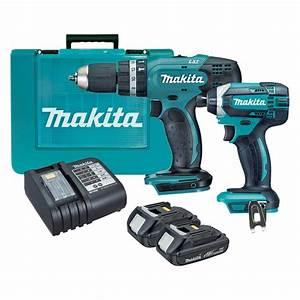 Makita 18V 2 Piece Cordless Drill Kit | Bunnings Warehouse