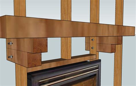 Corbel Installation by Fireplace Mantels Installation Care Redwood Burl Inc