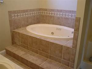 Access panel tile of a drop in tub useful reviews of for Tiled access panels bathroom
