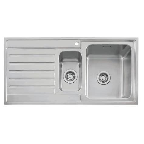 inset kitchen sinks stainless steel caple vanga 150 stainless sink sinks taps 7528