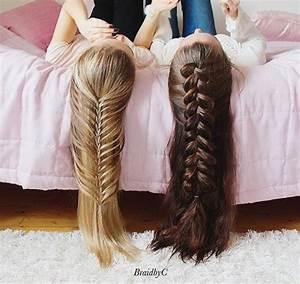 beauty, best friend, bff, blonde hair, braid - image ...