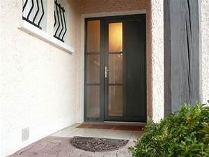 Sonnette Porte D Entrée : installateur de porte d 39 entr e pvc aluminium isolante ~ Dailycaller-alerts.com Idées de Décoration