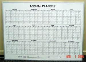 Dry Erase 12 Month Calendar