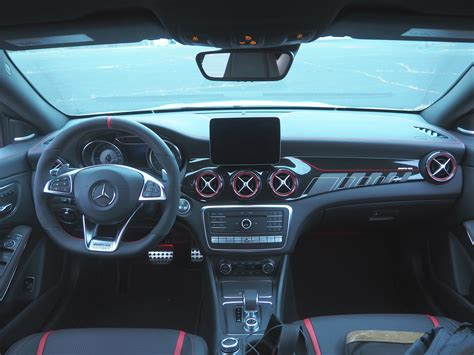 Plus, you get the same great infotainment system as the rest of. 2017 Mercedes-AMG CLA45 : Review