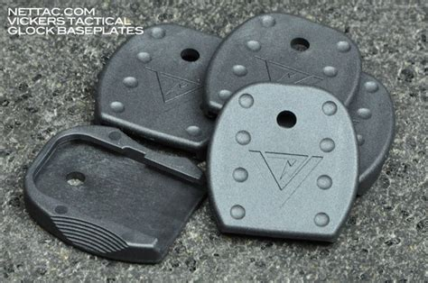 Glock Floor Plate Blue by Vickers Tactical Glock Mag Floorplates Now Available