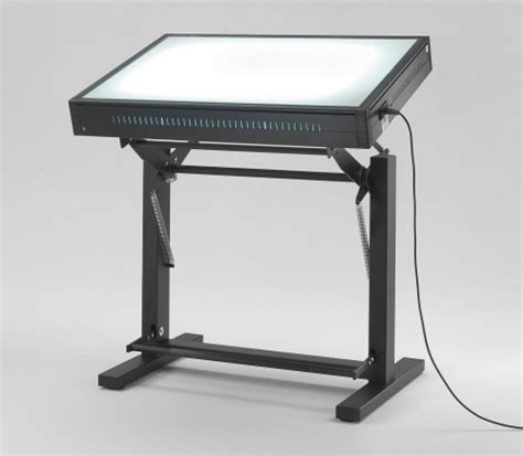 drafting table with lightbox drafting table light box used light table box hopper s