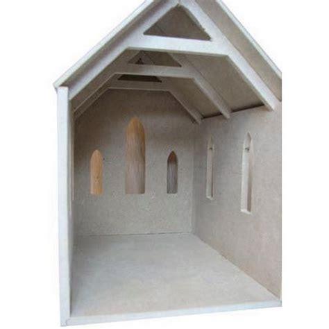 chapel unpainted kit  scale dhw