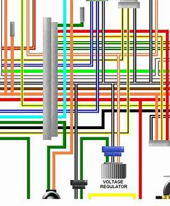 Suzuki Re5 Rotary Usa Canada Spec Colour Wiring Loom Diagram