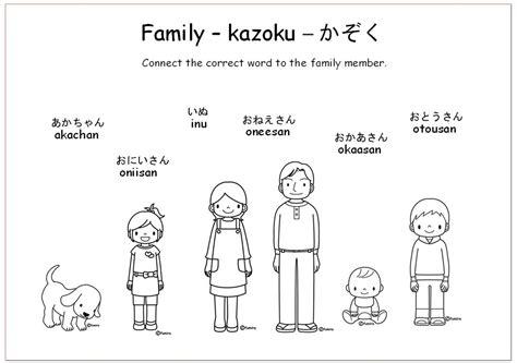 family members worksheets for preschool them