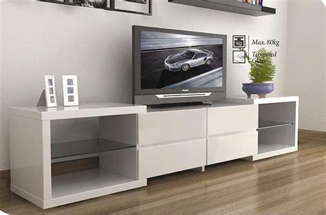 white tv cabinet modern tv stands enchanced the modern living room