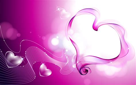 Awesome Abstract Hearts  Cute Wallpapers