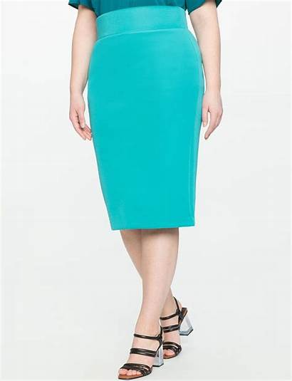 Skirt Neoprene Pencil Skirts Eloquii