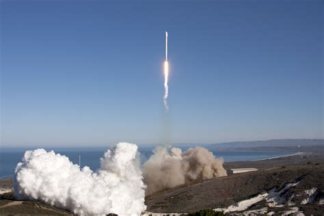 spacex launches upgraded falcon  rocket space news
