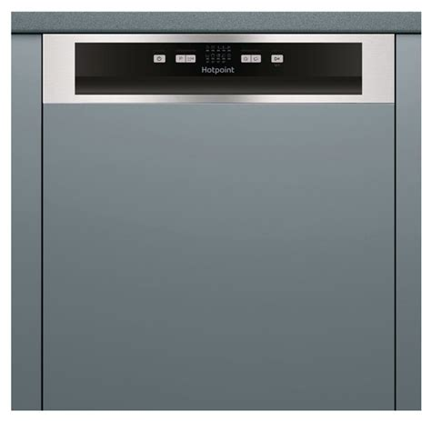 hotpoint hbcbx semi integrated dishwasher appliance
