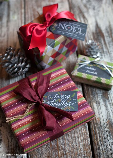 chalkboard christmas gift labels tags