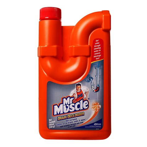 Mr. Muscle Drain Declogger 0.65 from RedMart